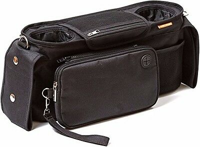 Universal  Baby Stroller Organizer With Removable Shoulder Strap Cup Holder