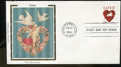 US 1994 FDC Colorano #2814 Love (from Booklet),  ub1468