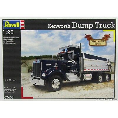 Revell 1/25 Kenworth Dump Truck Kit 95-07406 (New)