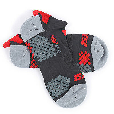 Dainese D-Core Footie Black / Red Motorcycle Motorbike Unisex Socks | All Sizes