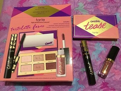 tarte tartelette faves volume II discovery set - new and boxed.