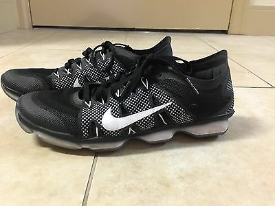 Nike Zoom Women's 7 Black And White Training Shoes Athletic