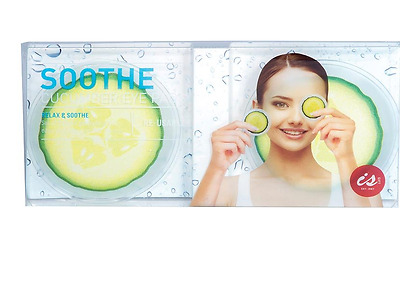New Soothe Cucumber Eye Pads Relax & Sooth