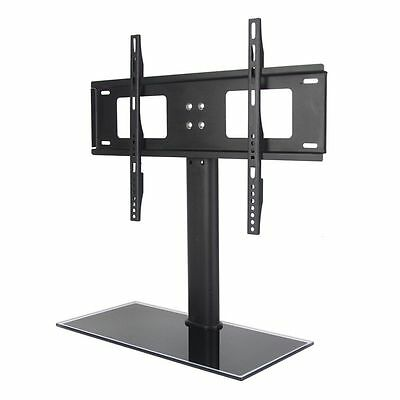 Universal Tabletop TV Stand LCD LED Plasma VESA Mount Bracket Flat Monitor Riser