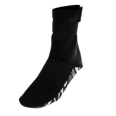 Adult 3mm Neoprene Diving Scuba Surfing Snorkeling Swimming Socks Booties XS-XXL