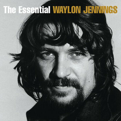 WAYLON JENNINGS The Essential 2CD BRAND NEW Best Of