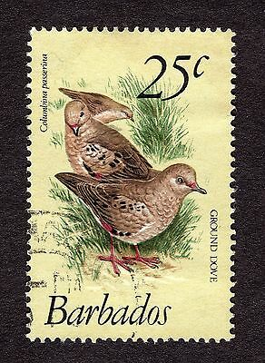 1979 Barbados 25c Scaly breasted ground dove SG629 FINE USED R31085