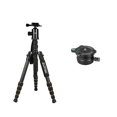 Tripod Monopod Kit & Ball Head+Leveling Ball Head Base for Canon DSLR Camera