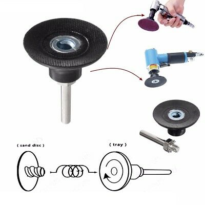 1'' Sanding Roloc Disc Pad Holder & 1/4'' Shank For Rotary Abrasive Pad Tool