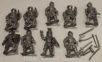 Essex Historical Mini 25mm Medieval Knights Collection #1 NM