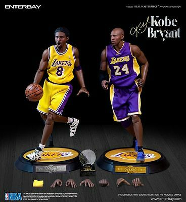 NBA - Kobe Bryant 1/6th Scale 'Duo Pack' Real Masterpiece Figure - Enterbay - AU