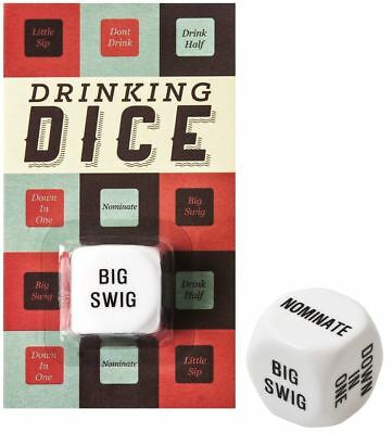 Drinking Game Party Dice - Pub Hen & Stag Dos and Gift Filler