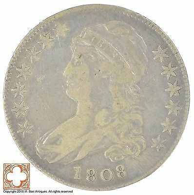 1808 Capped Busted Half Dollar *SB44