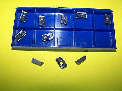 ! NEW-APMT1135 PDER- M2 TiALN COATED -10 pcs CARBIDE INSERT - FREE SHIPPING !