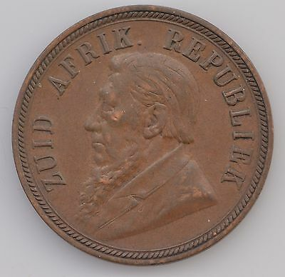 1898 South Africa One Penny *4077