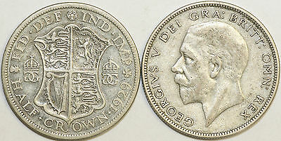 1920 to 1936 George V Silver Halfcrown Your Choice of Date
