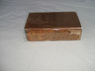 Antique book - The Odyssey of Homer - Translated by Alexander Pope (1818)