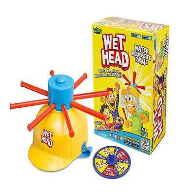 Wet Head Game Water Roulette Pie Face Fun Family Party Game Kid Adult Toy Gift