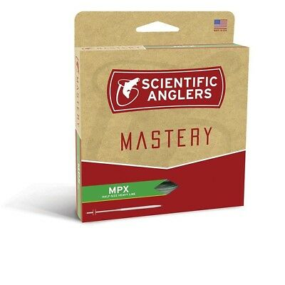 Scientific Anglers Mastery MPX Amber/Willow Fly Line