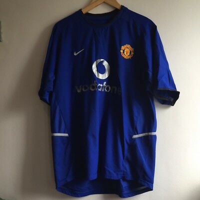 Manchester United 2002-03 Away Jersey