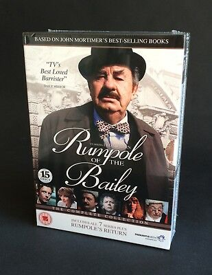 RUMPOLE OF THE BAILEY, The Complete Series 1 2 3 4 5 6 7 Box Set. New sealed DVD