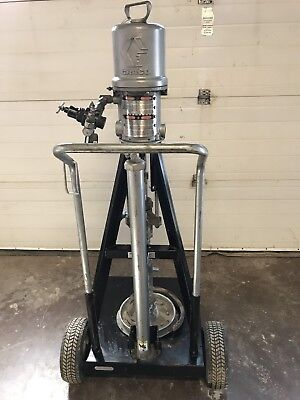GRACO PRESIDENT PUMP Air Powered 222-772  PUMP 222-783 222-771 224137
