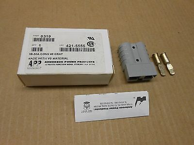 1 Nib Anderson Power 6319 Connector Kit, Housing & Contacts 2Position Sb50Series