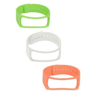 3Pack Soft Silicone Rubber Strap Wrist Band Bracelet For Samsung Gear R350