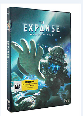 The Expanse: The Complete Second Season 2 (DVD, 2017, 4-Disc Set) NEW