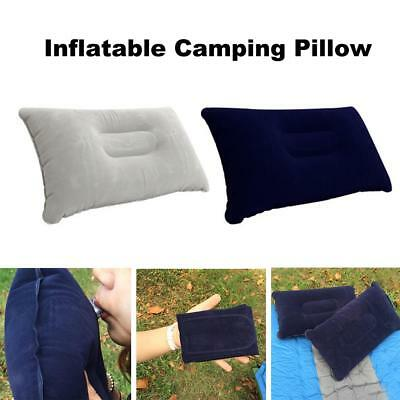 Ultralight Portable Inflatable Air Pillow Cushion Travel Car Flight Camping Rest
