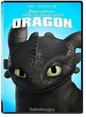 How To Train Your Dragon DVD Movie NEW