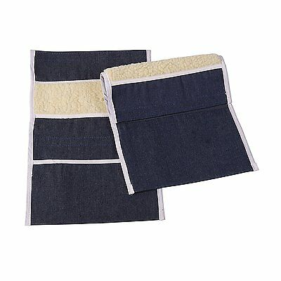 Wheelchair Arm Pads, Wheelchair Armrest Pouch, Wheelchair Arm Pouch, Denim, Pair