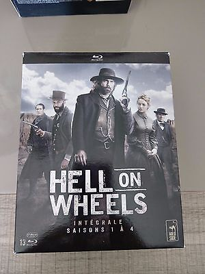 Vends Coffret Blu-ray : Hell on Wheels l'intégrale  Comme neuf