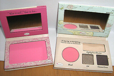 The Balm Hawaii Driver License Autobalm Face Palette + Instain Powder Blush Lace