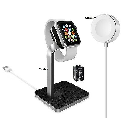 OEM Apple Watch iWatch 38mm/42mm Magnetic Charger 2M OR Mophie Watch Dock Stand