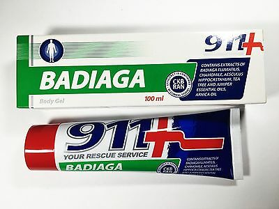 911+ BADIAGA / SPONGILLA BALM NATURAL CREAM CAPILLARIES, 100 ml БАДЯГА