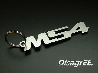 BMW F11 keychain stainless steel car keyring touring wagon M5 530 525 v8