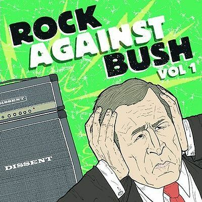 Rock Against Bush Vol. 1 CD DVD  sum 41 ALKALINE TRIO ministry nofx pennywise