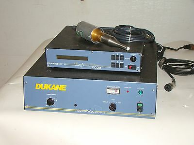 Dukane Ultrasonic Ultra 4000 Generator with UltraCom Controller 41C26 Probe