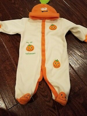 my first halloween outfit size 0-3 months