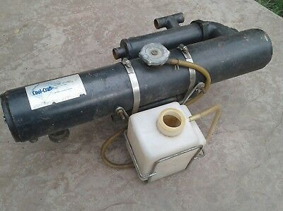 Cool Craft marine heat exchanger
