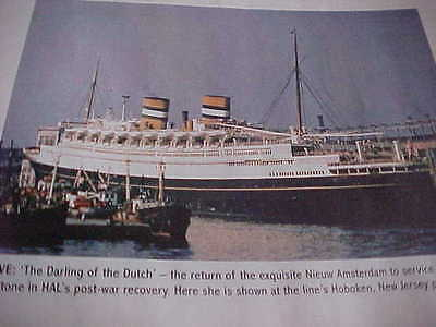SHIPS MONTHLY - Classic Issue January 2008 - Holland America Line 1930s to 1960s
