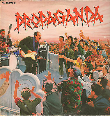 VA - Propaganda - No Wave II          LP    VG++