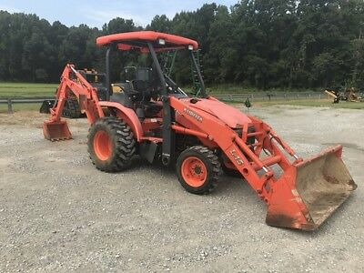 2010 Kubota TL1000A Backhoe Loaders