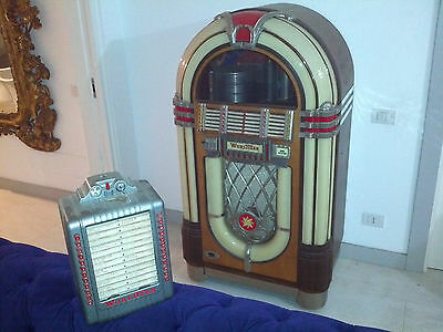 Wurlitzer 1015 (anno 1946) + wall box originale