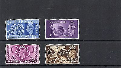 GB 1948 George VI OLYMPIC Games Set 4v UNMOUNTED MINT Ref:X626