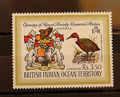 British Indian Ocean Territory (Seychelles) 1971 Aldabra Research Station MNH