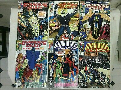 The Original Guardians of the Galaxy comic book lot 3! issues #13-18 Marvel,1990