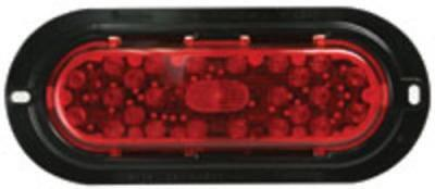 Truck-Lite 81158 26-LED 60-Series Stop/Turn/Tail Lamp w/Flange, Red