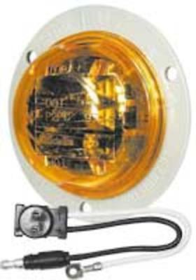 Truck-Lite 81255 LED Model-30 Clearance/Marker Lamp, 14 V, Amber